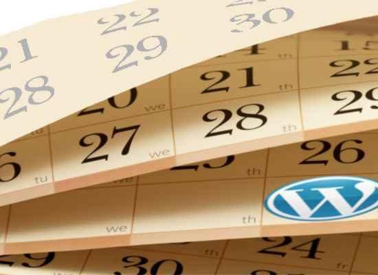 Wordpress Training Courses Calendar UK